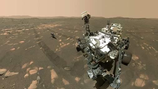 Марсохід Perseverance розпочинає свою першу наукову місію