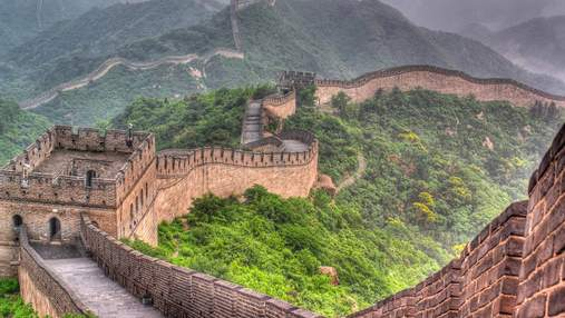 Археологи обнаружили неизвестную часть Великой Китайской стены: фото