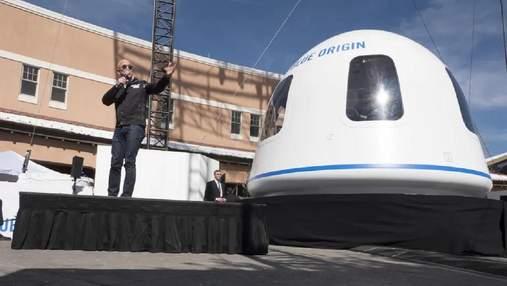 Аукціон закінчився: Blue Origin продала останній квиток на політ у космос з Джеффом Безосом