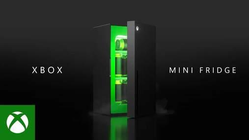 Тепер не жарт: Microsoft випустить холодильник у вигляді Xbox
