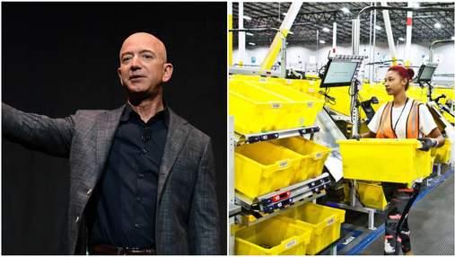 Безос вважає працівників Amazon лінивими, тому компанія стежить за кожним кроком