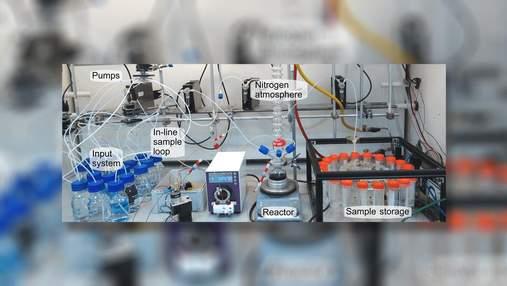 Автономний робот-хімік досліджує перетворення неживої матерії в живу