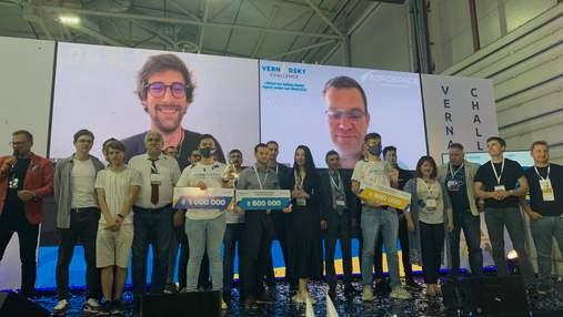 Vernadsky Challenge 2021: стартапы-победители разделят 2 миллиона призовых гривен
