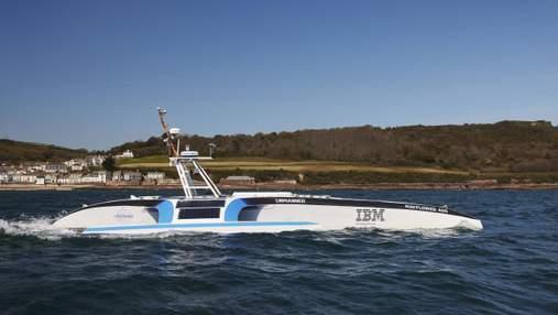Первая попытка автономного судна пересечь Атлантический океан закончилась провалом