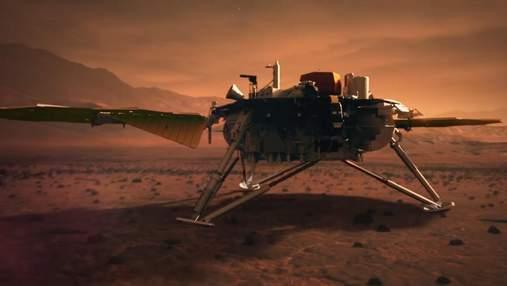 У марсіанського апарата InSight знову проблеми: чи переживе станція 2021 рік