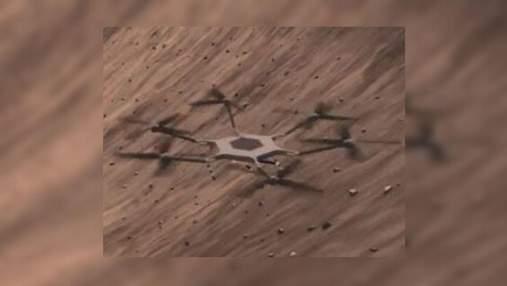 NASA хочет отправить на Марс большой исследовательский вертолет