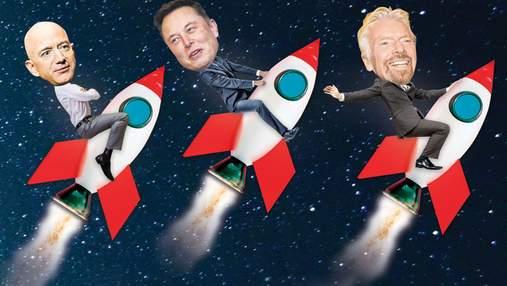 Маск, Безос та Бренсон можуть врятувати 41 мільйон людей: чому вони цього не зроблять
