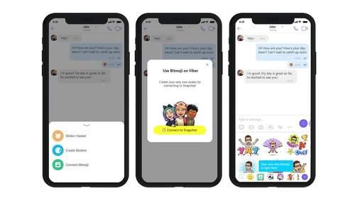 Viber додає фільтри зі Snapchat: функціональність месенджера розшириться