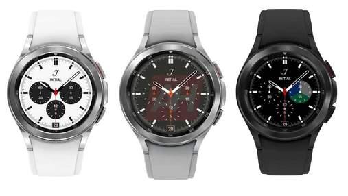 Классические смарт-часы Samsung Galaxy Watch 4 Classic показали в трех цветах