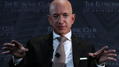 Джефф Безос досяг рекордних статків: скільки грошей має найбагатша людина світу зараз