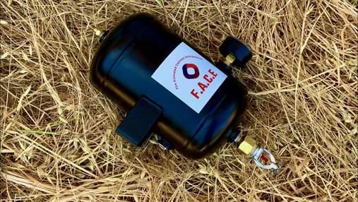 Школьник разработал простой и дешевый автоматический огнетушитель