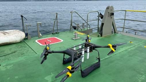 Королевский военный флот Великобритании тестирует дроны для спасения людей
