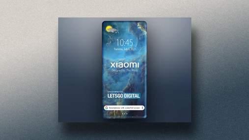 Куди не глянь – екран: патент показує, як може виглядати один з наступних смартфонів Xiaomi