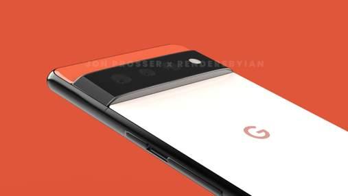 Новий Google Pixel 6 з крихітною камерою вперше показали в руках користувача