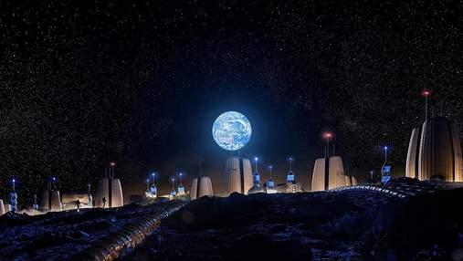 Архітектори показали футуристичний проєкт бази на Місяці