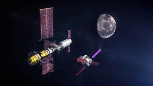 NASA подписывает контракт на построение жилого модуля лунной орбитальной станции Gateway