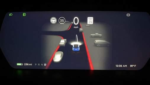 Автопілот Tesla навчать реагувати на поворотники, маячки і навіть на людські жести