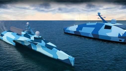 """""""Примарний флот"""" Пентагону поповниться ще двома безекіпажнами робокораблями"""
