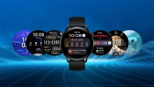 """""""Розумні"""" годинники Huawei Watch 3 офіційно з'явилися в Україні – характеристики та ціна"""