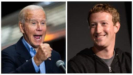 """""""Ви вбиваєте людей"""": між Джо Байденом та компанією Facebook розгорівся скандал"""