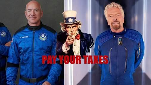 У США пропонують ввести податок на космічні подорожі: вище летиш, більше платиш