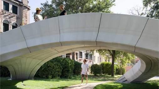 В Италии построили первый бетонный мост без арматуры, напечатанный на 3D-принтере