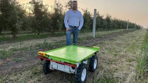 Українці розробили робота-помічника для фермерів: показали перше відео