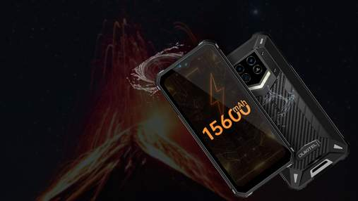 Oukitel WP15 – новий смартфон з батареєю на 15 600 міліампер-годин