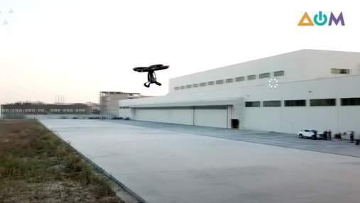 Работает на электричестве: летающий автомобиль испытали в Турции – фото