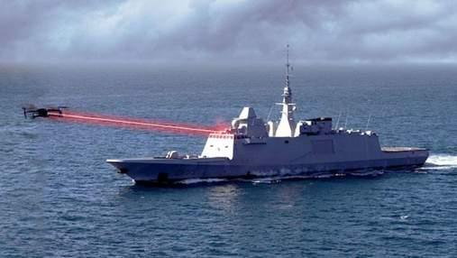 Французькі військові протестують роботу бойового лазера у морі