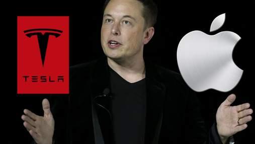 Ілон Маск розкритикував Apple: у чому керівник Tesla звинуватив конкурентів