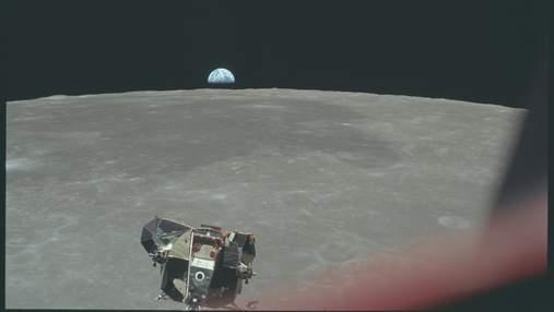 """Где сейчас находится Лунный модуль """"Аполлона-11"""""""