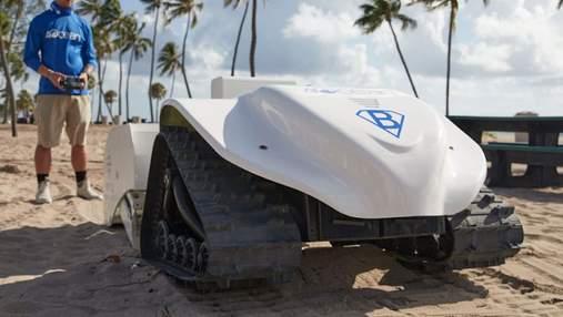 Изобретатели разработали робота для уборки пляжей: что о нем известно