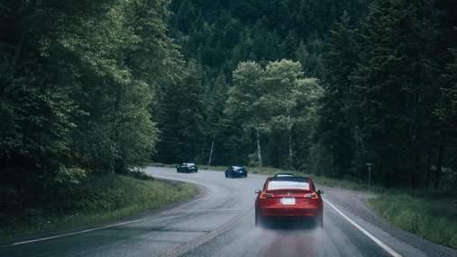 П'яний водій заснув за кермом Tesla: автопілот його врятував, але не від арешту