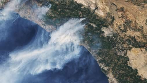 Туреччина палає: NASA показало масштаби лісових пожеж з космосу – фото