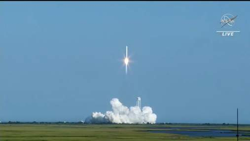 Ракета Antares, частичного производства Украины, вывела на орбиту корабль с грузом для МКС