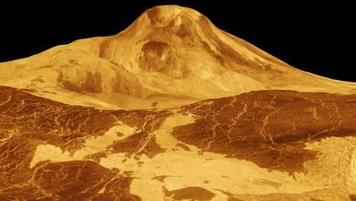 Доказательства недавней вулканической активности на Венере