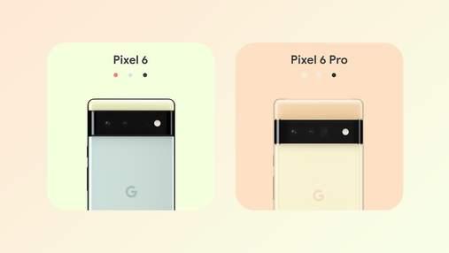 Знову найкращі: стало відомо, які камери отримають нові Google Pixel 6
