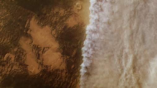 Как марсианские пыльные бури высушивают Красную планету