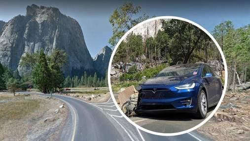 Автопилот Tesla пять раз попал в аварию на одной и той же дороге в Калифорнии