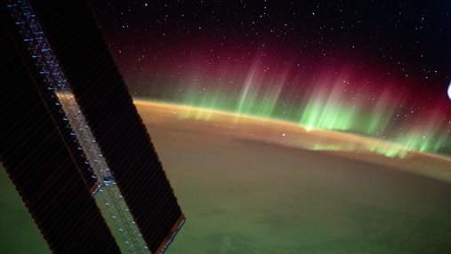 Полярное сияние свидетельствует об исчезновении озонового слоя Земли