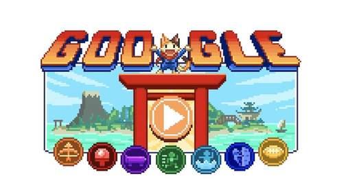 """Google сделал новый интерактивный дудл с игрой """"Остров Чемпионов"""""""