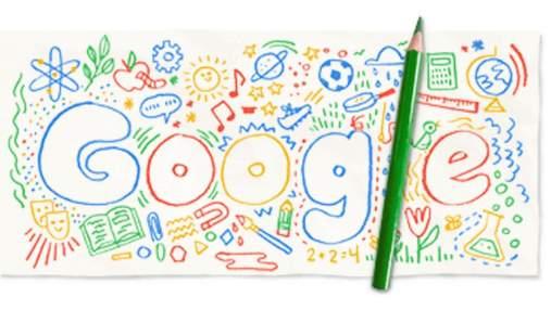 Google поздравил Украину с началом учебного года