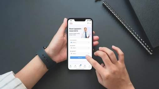 Назвали самое популярное медицинское мобильное приложение в Украине