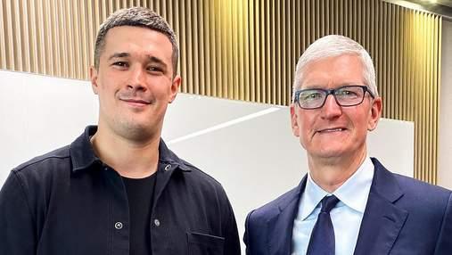 Михаил Федоров встретился с главой Apple Тимом Куком: что обсудили и о чем договорились