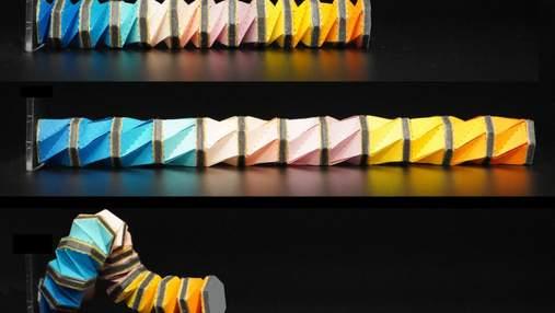 Инженеры создали роботизированное оригами-щупальце, которое управляется магнитным полем