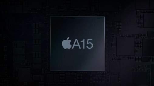 Новий процесор Apple А15 засвітився в тестах GFXBench: відома його продуктивність