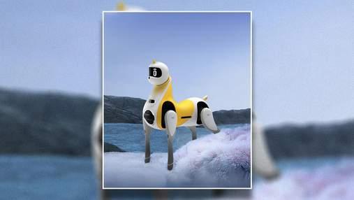 Китайская компания выпустила робота в виде лошади