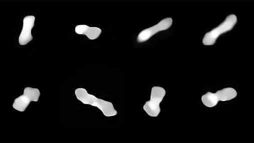 Отримані найдетальніші фотографії астероїда Клеопатра