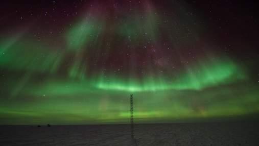 Ученые обнаружили, что северное сияние вызывает разрушение озонового слоя Земли